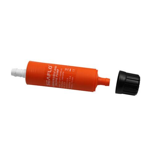 SEAFLO 12v Submersible//Inline Water//Diesel Transfer Pump 280 GPH