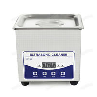 Best Commercial Digital Degas Ultrasonic Carb Gun Brass Case Cleaner Water Bath