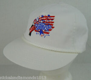 0b7137cb Details about NOS Coca Cola Let's Celebrate American Red White Blue USA Hat  Snapback Coke