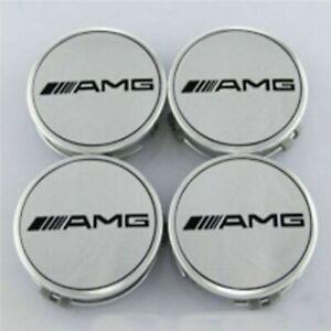 4X-Alloy-Wheel-Centre-Caps-For-Mercedes-Benz-AMG-75mm-Badges-Hub-Emblem-A-C-E-G