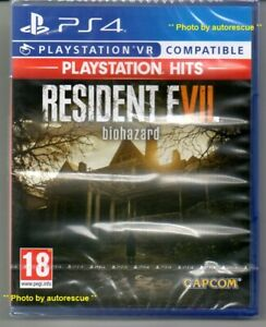 Resident-Evil-7-Biohazard-HD-VR-039-New-amp-Sealed-039-PS4-Four