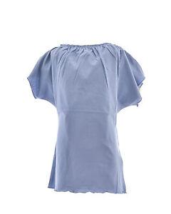 MANILA-GRACE-t-shirt-bambina-con-collo-arricciato-ed-elastico-in-PROMOZIONE