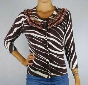 Kate-Spade-Small-S-Cotton-3-4-Sleeve-Zebra-Print-Embellished-Cardigan-Sweater