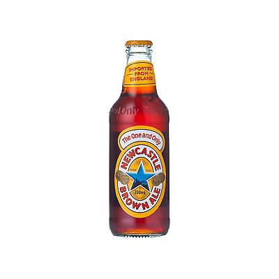 Newcastle Brown Ale case of 24 International Beer 330mL
