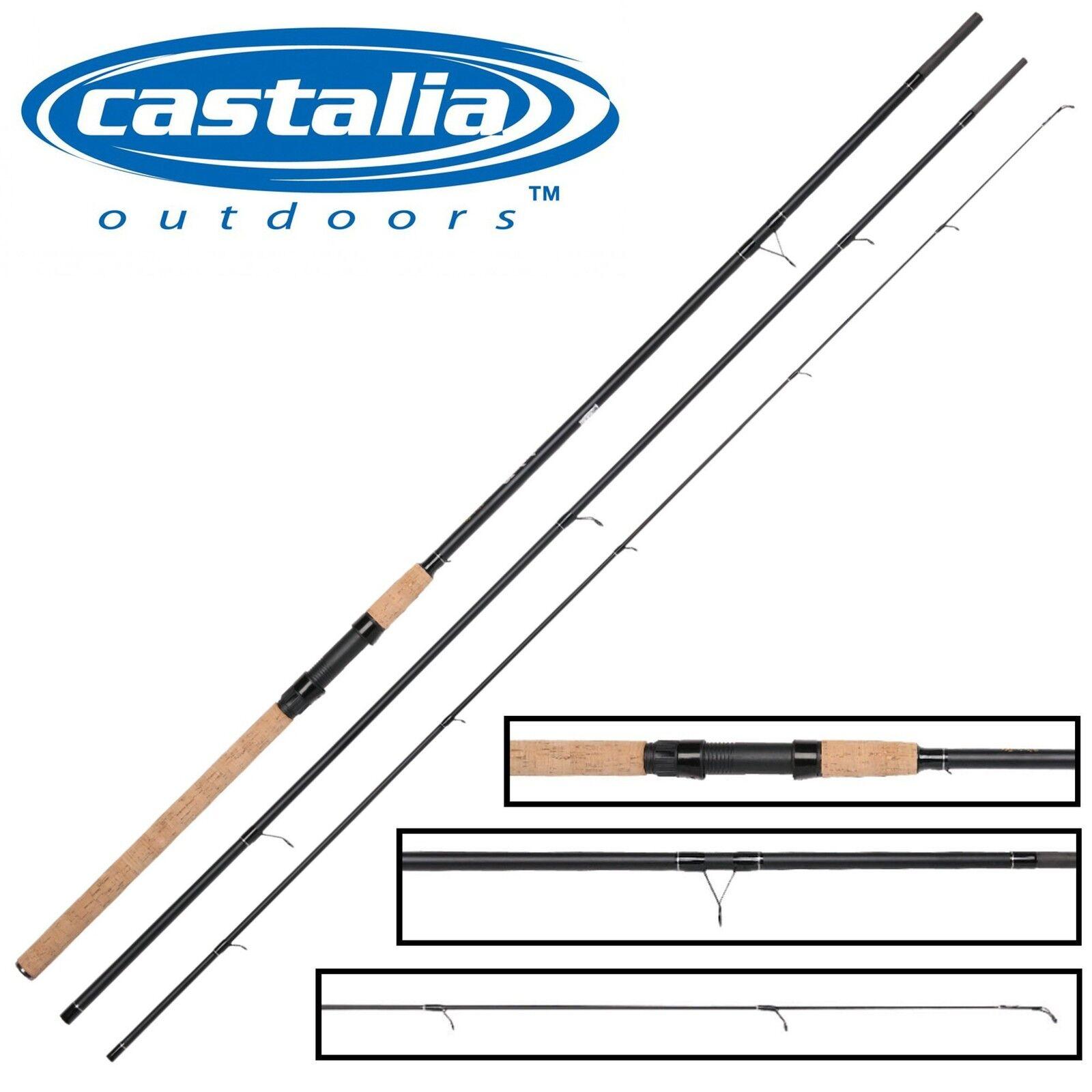 Castalia Match 390cm 1-12g - Matchrute zum Stippen, Angelrute für Weißfische