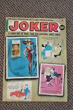 JOKER Magazine  (Humorama) Feb 1971 Pinups Girlie Cartoons