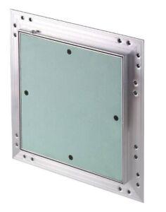 DOPPELT Revisionsklappe Revisionstür Aluminium Rahmen 25mm Gipskarton GK-Einlage