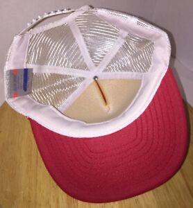 VTG STRICKLAND MARINE CENTER Anderson SC 80s 90s LOCAL Trucker Hat Cap Snapback