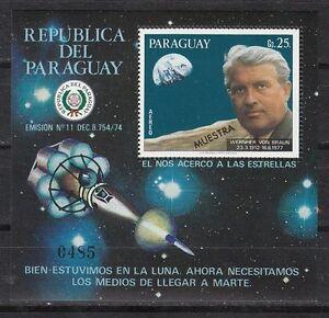 Paraguay Scott C453 Mint NH specimen S/S