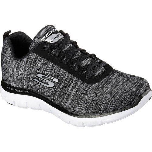 Skechers Sport Para Mujer Flex Appeal Zapatillas Zapatillas Zapatillas De Moda 2.0 Negro blancoo 12753  promociones de descuento