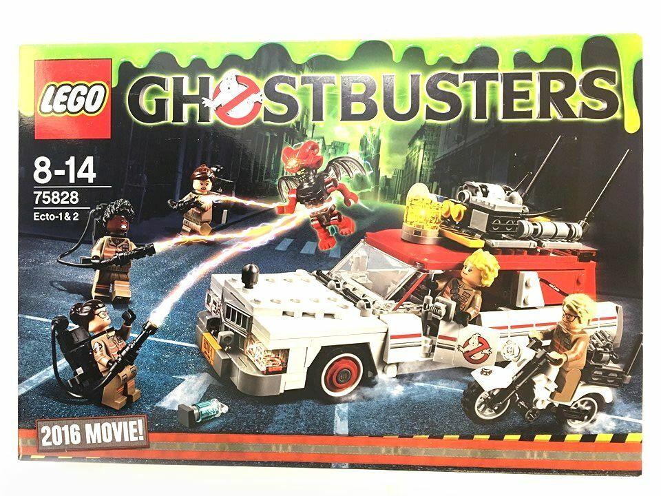 Lego 75828 Ghostbusters Ecto - 1 y 2-Nuevo Sellado De Fábrica