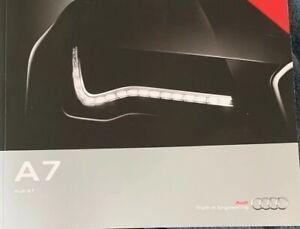 2014 Audi A7 Brochure