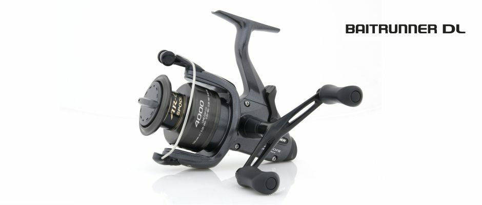 Shimano NEW Fishing Baitrunner DL 4000FB Reel - BTRDL4000FB