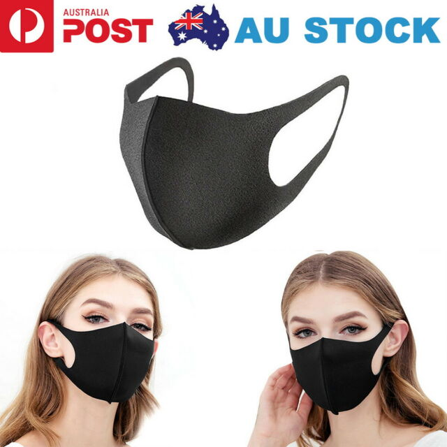 3pcs Washable Earloop Mask Cycling Anti Dust Mouth Face Mask Surgical Respirator For Sale Online Ebay