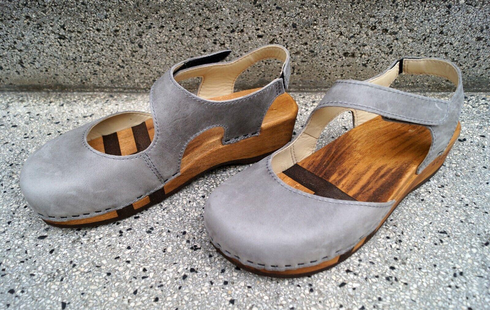 Woody Damen Sandalette wood-o-flex Nicole Perla