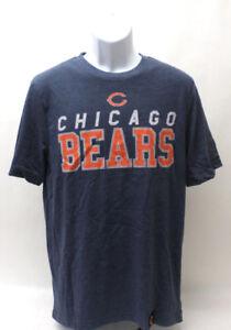 Chicago-Bears-Mens-Graphic-T-Shirt-Short-Sleeve-Navy-Blue-Size-Medium-NFL