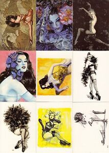 OLIVIA METAMORPHOSIS 2002 COMIC IMAGES PROMO CARD SET P1 TO P3