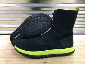 Under Armour UAS FAT Summer Boot Hi Top Lace Up Green Leather Boots