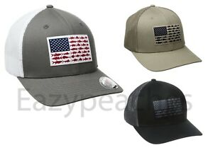 34162f6f050 Image is loading COLUMBIA-PFG-MESH-HAT-FLEXFIT-CAP-FITTED-Size-