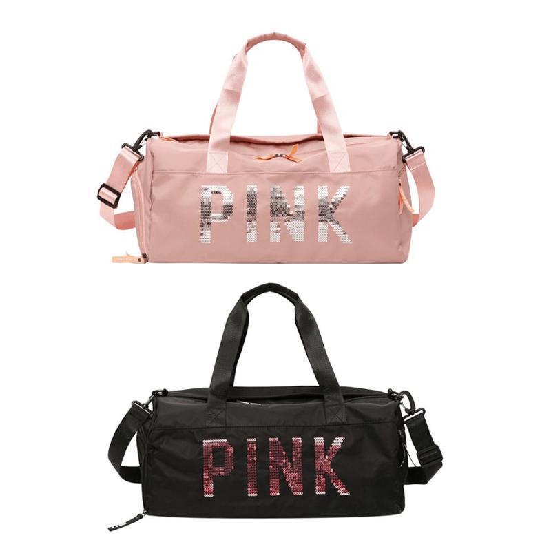 Women's Gym Sports Travel Bag Daypack Duffle Pack Shoulder B