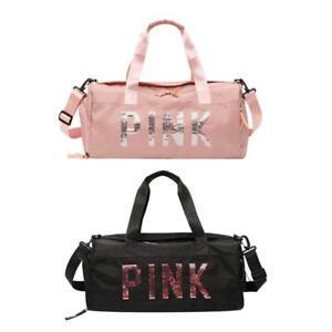 Women-039-s-Gym-Sports-Travel-Bag-Daypack-Duffle-Pack-Shoulder-Bag-Hand-Bag