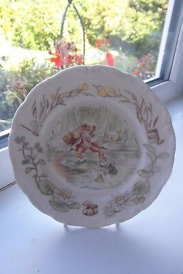 Royal Albert Jeremy Fisher Side Plate Teatime Collection 1st Quality