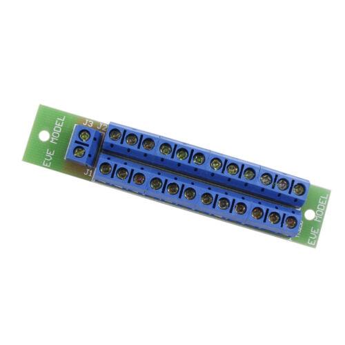 1 Set PowerControl DistributionBoard 2Eingänge24 Ausgänge Gleich/&Wechselspannung