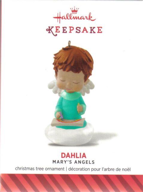 Hallmark 2014 Register to Win Mary's Angel's Dahlia IN HAND READY TO SHIP