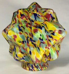 New-3-1-4-034-Multi-Color-Art-Deco-End-Of-Day-Starburst-Lamp-Shade-Globe-SS960