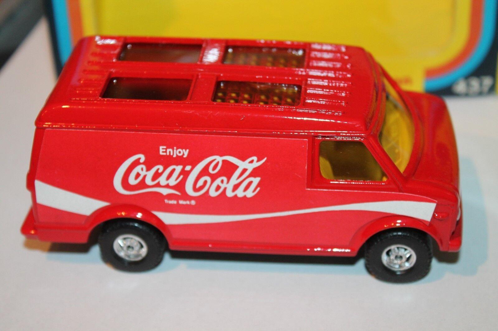 CORGI toys  Chevrolet van  COCA COLA  OVP  original 1978