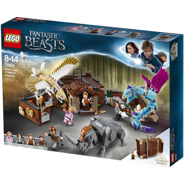 Nuovo Lego 75952 Fantastic Beasts Nuovot's Case Of Magical Creatures Creativity Toy