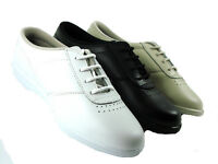 Boulevard Leather Upper Comfort Walking Shoe With Freestep Cushioning Bnib