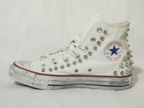 Blanc Femme Hi Converse All Craft Chaussures Blanc Homme Star Optique wYBFOBS