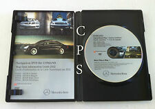 2004 2005 2006 Mercedes S350 S500 S600 S55 AMG Navigation DVD Map 2011 Update