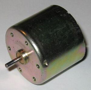 Cassette-Rewinder-DC-Motor-12-V-4700-RPM-Low-Current-Draw