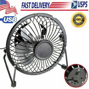 4-039-039-Desk-Table-Fan-Personal-USB-Small-Air-Circulator-Quiet-Mini-Portable-Retro