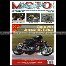 CHRONIQUES MOTO N°54 AERMACCHI 250 BIALBERO FLANDRIA 50 RECORD PEUGEOT 125 S 55
