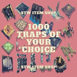 Fortnite-STW-Save-the-world-X1000-Traps-Of-Your-Choice-Pc-Xbox-Ps4-200X5