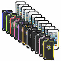 For Apple Ipod Touch 5 Th / 6 Th Gen Hybrid Defender Slim Armor Case Cover