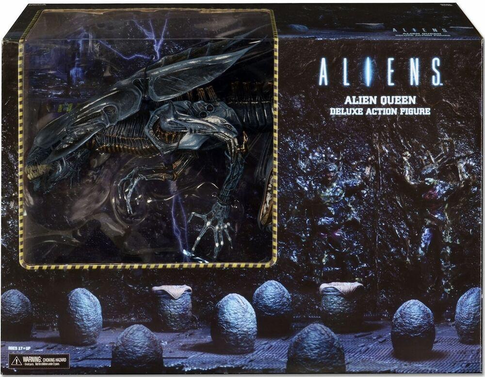 ALIEN QUEEN Ultra Deluxe boxed action figureAliensAvPPROTatorNECANIB