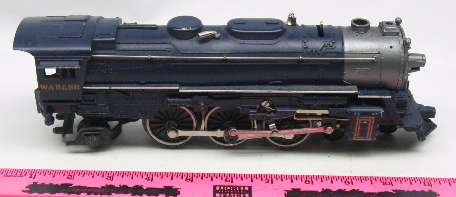 Lionel shell  Wabash Steam Locomotive 4-6-2