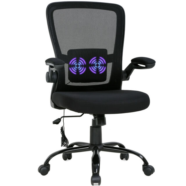 Yaheetech Rolling White Modern Ergonomic Swivel Leather Office Chairs Computer For Sale Online Ebay