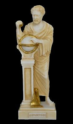 The Father of Atomic Theory Ancient Greek Philosopher Democritus Statue
