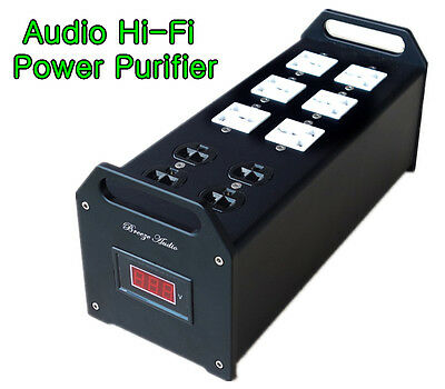 Audio Noise Power Filter AC line-conditioner Power Purifier Universal Sockets