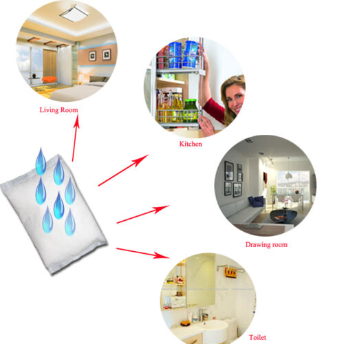 1,93€//kg 3x 1,2kg Luftentfeuchter Granulat für Raumentfeuchter im Vliesbeutel