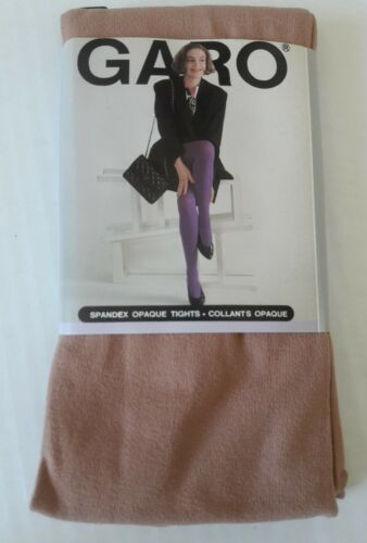 NEW  WOMAN GARO SPANDEX Opaque Tights Pantyhose Design by Garo Group Sweden