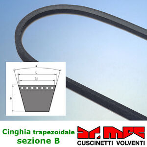 Cinghia-trapezoidale-liscia-sezione-B-codici-da-B91-a-B110