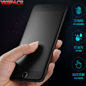 sale retailer 6ee99 4b74e Details about Matte Anti Blue Ray Screen Protector for iPhone 6 6s 7 8 Plus  X XS MAX XR Glass