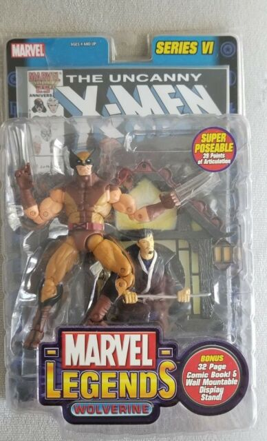 Marvel Legends Series 6 VI Wolverine X-men Toybiz