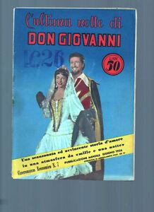 Photonovel-Guenstig-n-7-Emily-1956-LETZTE-Nacht-von-Don-Giovanni-Gut